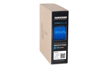 SBS пластик Filamentarno S-Soft синий непрозрачный