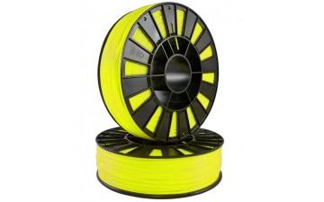 ABS пластик SEM  желтый флуоресцентный