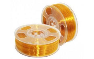 ABS GF пластик U3Print Amber Transparent / Янтарь полупрозрачный (1кг)