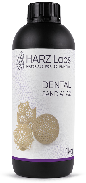 HARZ Labs Dental Sand A1-A2 Form2