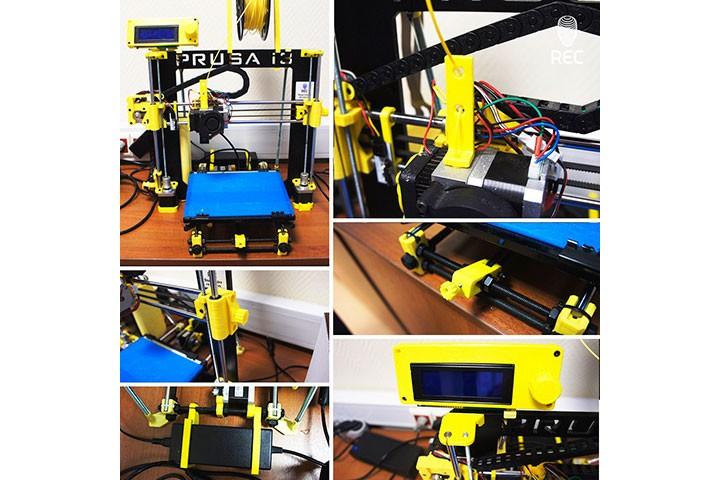 Пример печати желтым REC RELAX