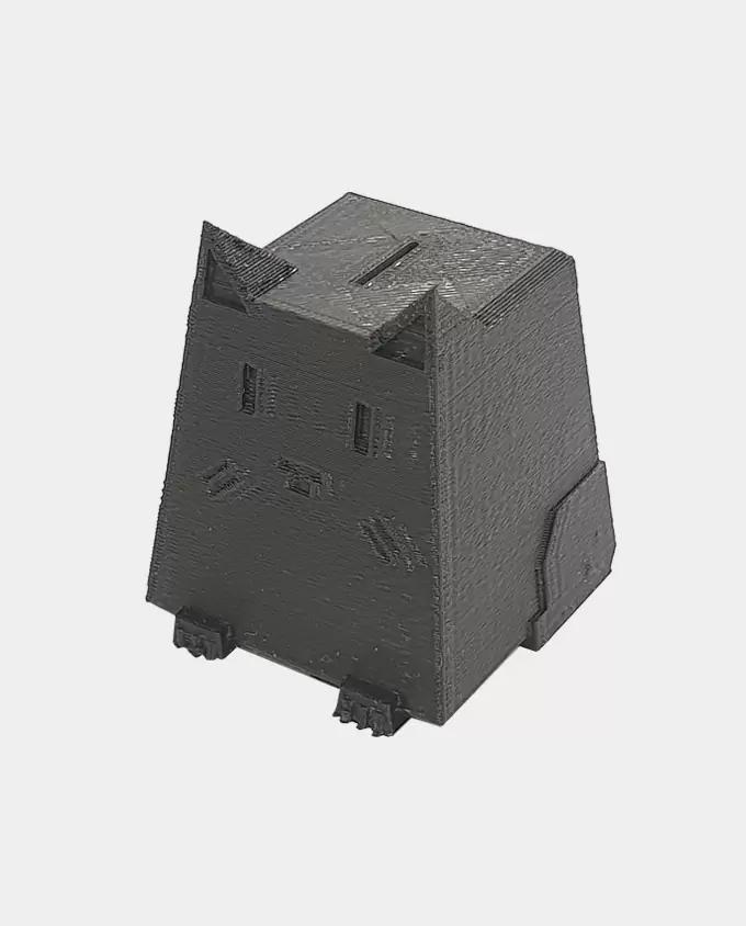 Черный PLA SEM. Пример печати