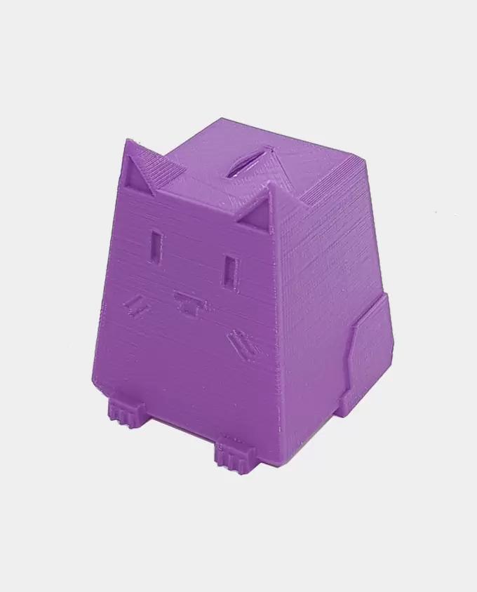 Фиолетовый PLA SEM пример печати